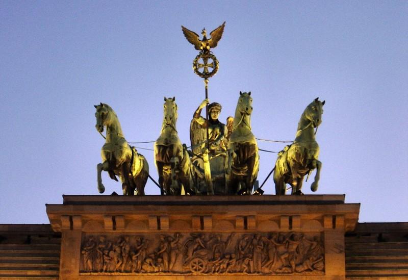 Berlin :: Porte de Brandebourg