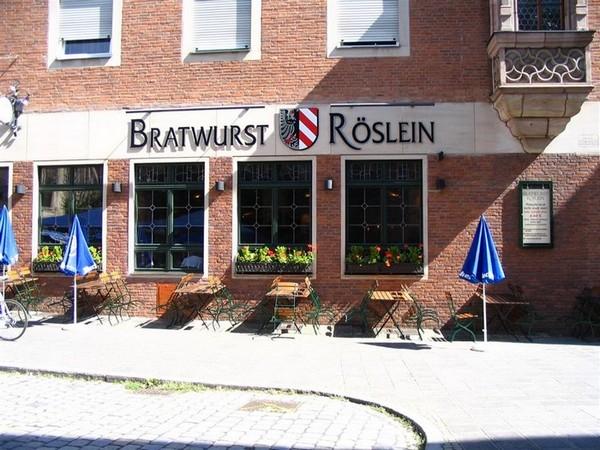 Nuremberg :: Bratwurst Röslein